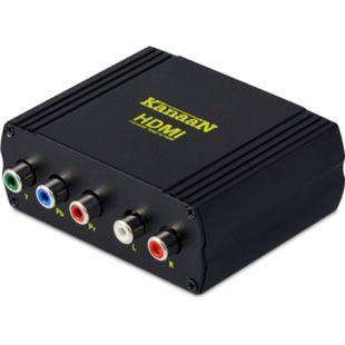 KanaaN Component-YPbPr-Video/Audio-zu-HDMI-Konverter Adapter - Bild 1