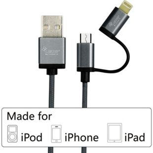 KanaaN  Apple Lightning MFi USB Kabel - Bild 1