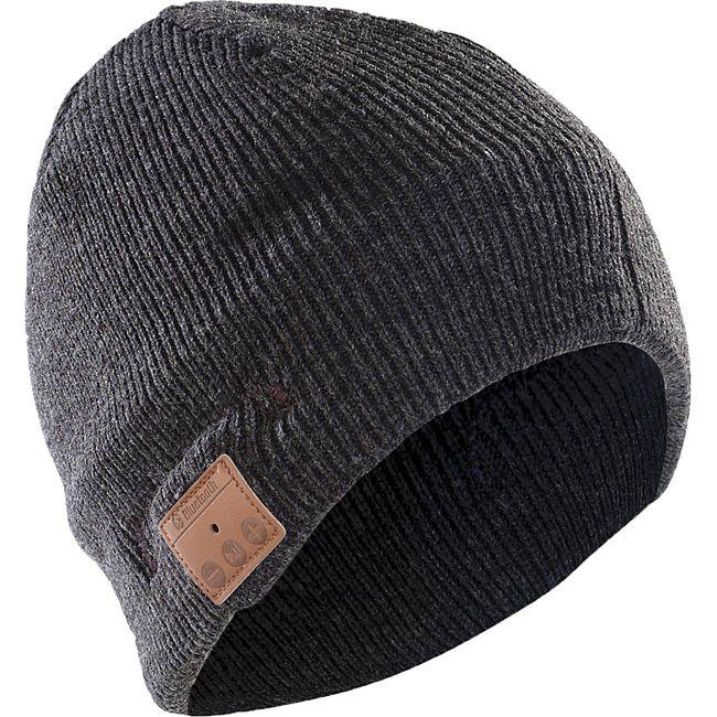Sharon Music Beanie mit  Bluetooth | Mütze mit Headset , grau - Bild 1