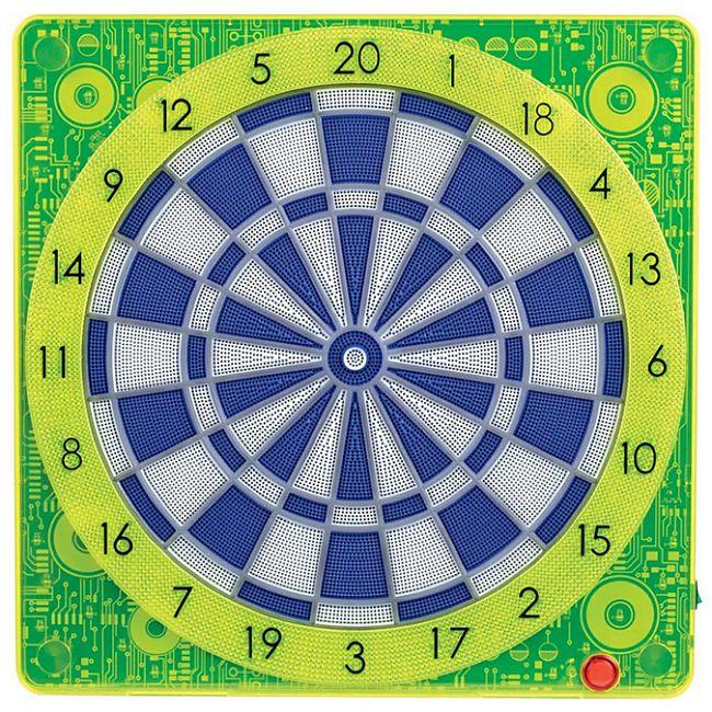 SMARTNESS ONLINE CONNECT DARTBOARD SQUARE-501, gelb - Bild 1