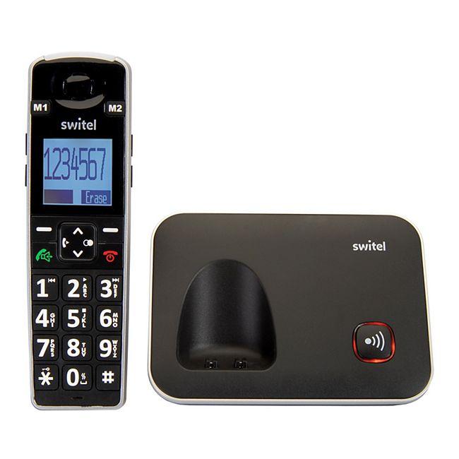 switel d7000 vita dect komfort telefon online kaufen netto. Black Bedroom Furniture Sets. Home Design Ideas
