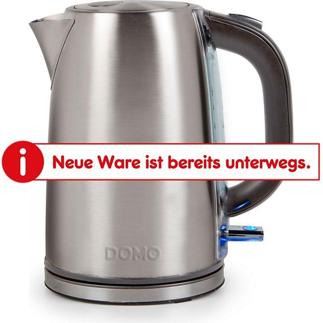 DOMO DO448WK Wasserkocher Edelstahl 1,7 Liter - Bild 1