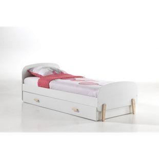 Vipack Einzelbett Kiddy inkl. Bettschublade, 90 x 200 cm - Bild 1