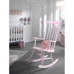 Vipack Schaukelstuhl, rosa - Bild 1