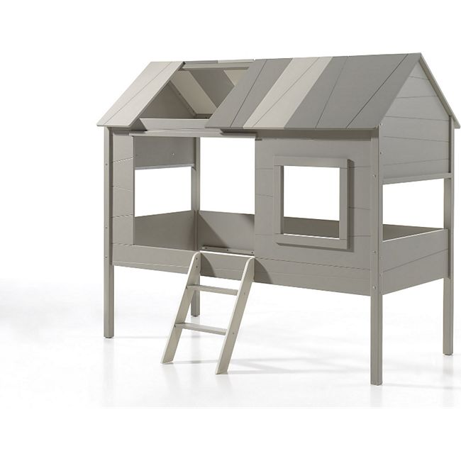 Vipack Baumhaus Bett Charlotte inkl. Vorhang-Set, 90 x 200 cm - Bild 1