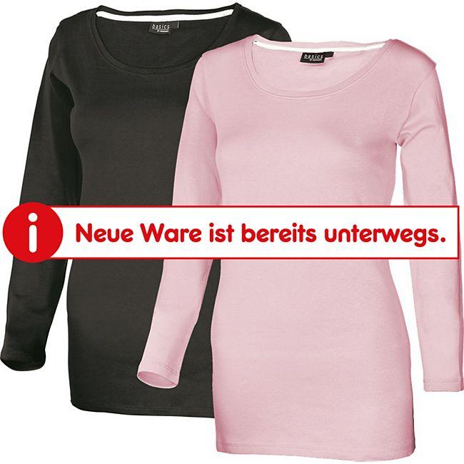 Damen Shirt 2er Pack Schwarz + Pink  L (40-42) - Bild 1
