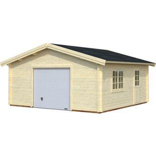 Palmako Roger 27,7 m² Garage mit Sektionaltor - Bild 1