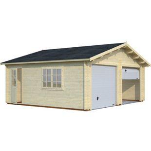 Palmako Roger 28,4 m² Garage mit Sektionaltor - Bild 1