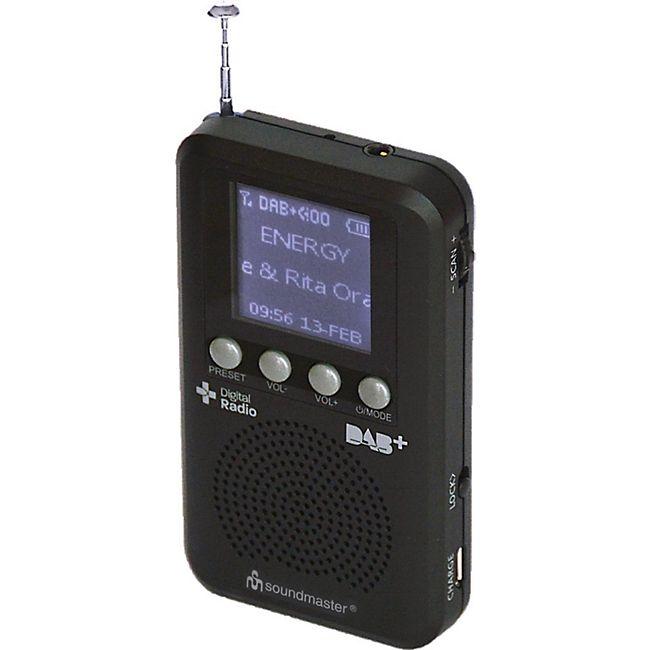 Soundmaster DAB170SW Taschenradio - Bild 1