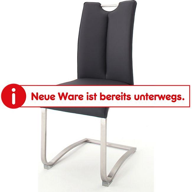 MCA Schwinger Artos 1, 2er Set schwarz Kunstleder, belastbar bis ca. 140 kg - Bild 1