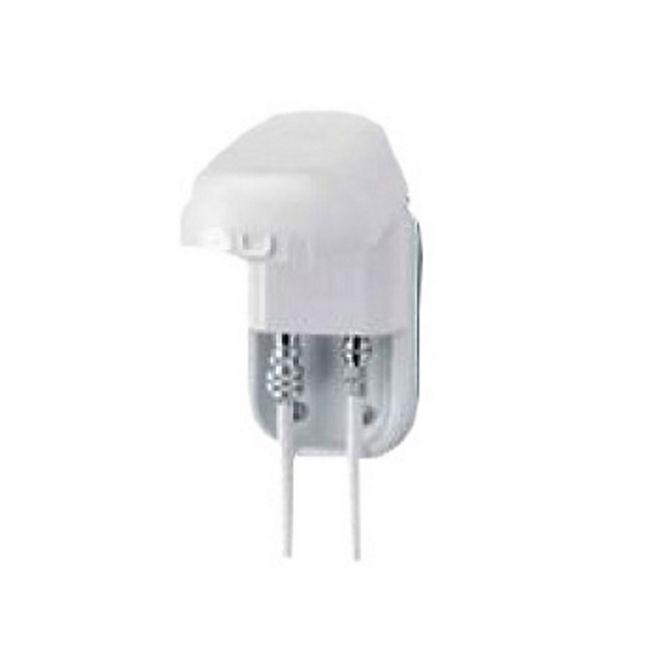 Twin-Außensteckdose für Sat-Anlagen und terrestrische Antennen, weiß - Bild 1