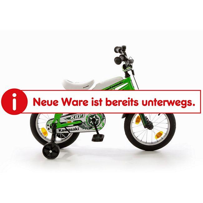 """Bachtenkirch 14"""" Kinderfahrrad KAWASAKI - """"KIDD"""" grün/schwarz - Bild 1"""