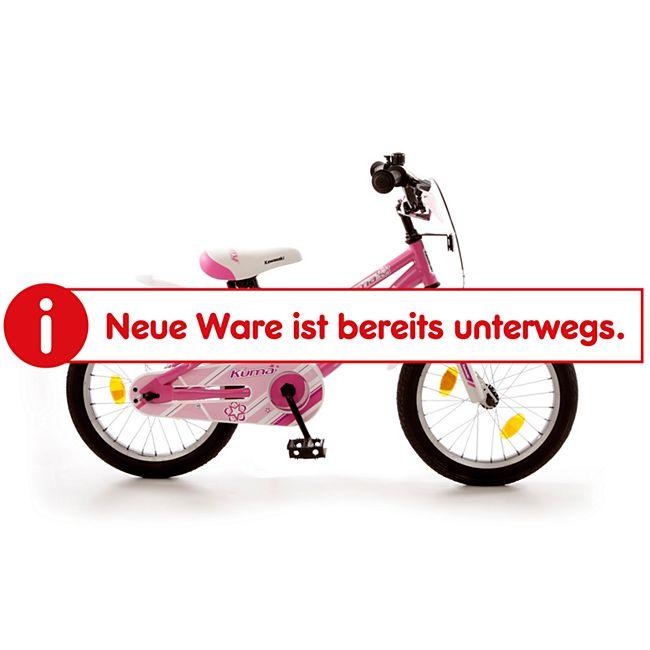 "Bachtenkirch 16"" Kinderfahrrad ""KAWASAKI - KUMA"" pink/weiß - Bild 1"