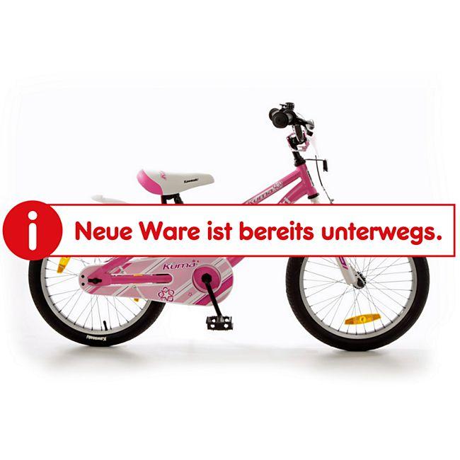 "Bachtenkirch 18"" Kinderfahrrad ""KAWASAKI - KUMA"" pink/weiß - Bild 1"