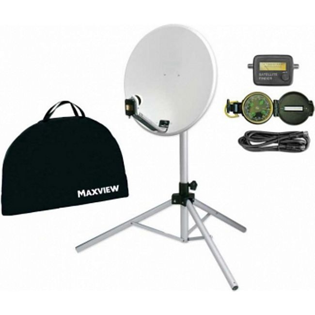 "Maxview Portable Sat-Kit ""light"" - 65 cm - Bild 1"