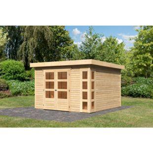 Woodfeeling Gartenhaus Kerko 6, 19 mm naturbelassen - Bild 1