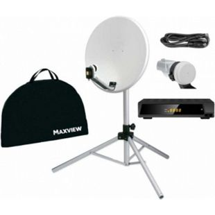 "Maxview Portable Sat-Kit ""light"" - 54 cm - mit Easy Find Digital LNB mit Digital Receiver 12/230V - Bild 1"