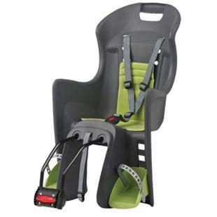 Kindersitz Boodie FF, dunkelgrau-grün, Rahmenbefestigung - Bild 1