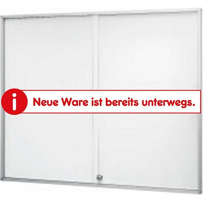 magnetoplan Schaukasten de luxe mit Schiebetüren, A4 Format (BxH) 3x4 - Bild 1