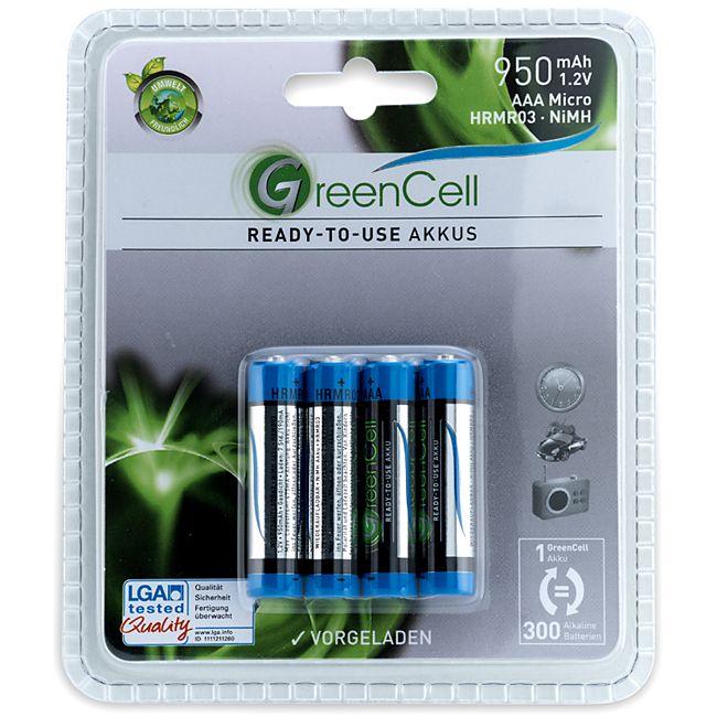 GreenCell Ready-to-use Akkus, AAA- 950 mAh - Bild 1