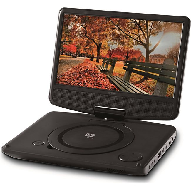 reflexion portabler tft lcd bildschirm mit dvd player inkl. Black Bedroom Furniture Sets. Home Design Ideas
