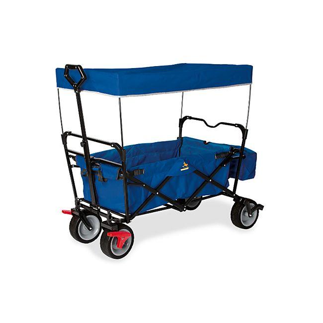 Pinolino Klappbollerwagen 'Paxi dlx' mit Bremse blau - Bild 1
