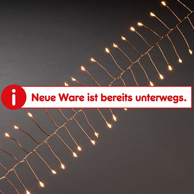 """Konstsmide Micro LED Lichterkette """"Firecracker"""", kupferfarbener Draht - Bild 1"""