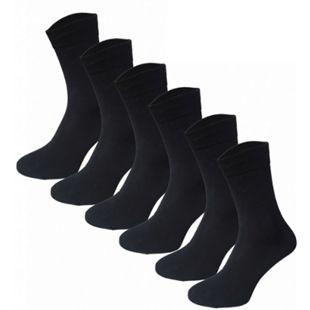 Garcia Pescara 12 Paar Classic Socken aus Baumwolle in schwarz, Größe 39-42 - Bild 1