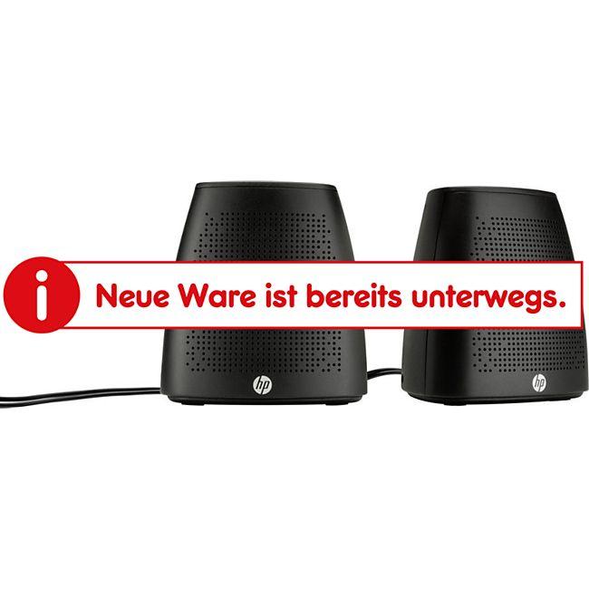 2.0 PC-Lautsprecher Kabelgebunden HP S3100 2.4 W Schwarz - Bild 1
