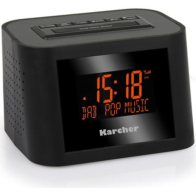 Karcher DAB 2420 DAB+/UKW- Radiowecker - Bild 1