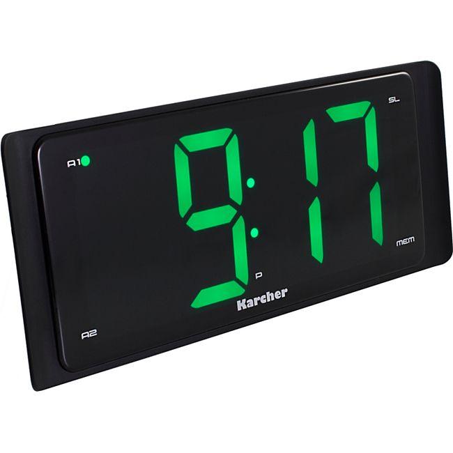 Karcher UR 1090 Uhrenradio mit extragroßem Display (stufenlos dimmbar) - Bild 1