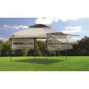 ShelterLogic Quik Shade Pavillon, taupe - Bild 1