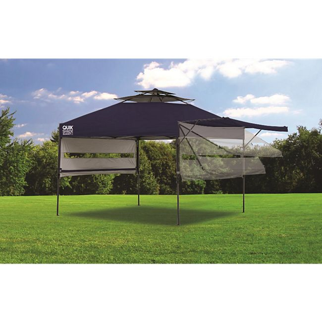 ShelterLogic Quik Shade Pavillon, dunkelblau - Bild 1