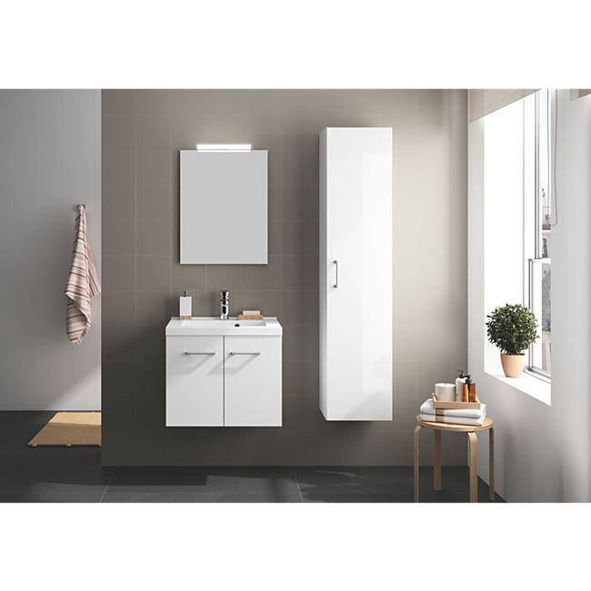 Badmöbel-Set Allibert 95 cm weiß glänzend - Bild 1