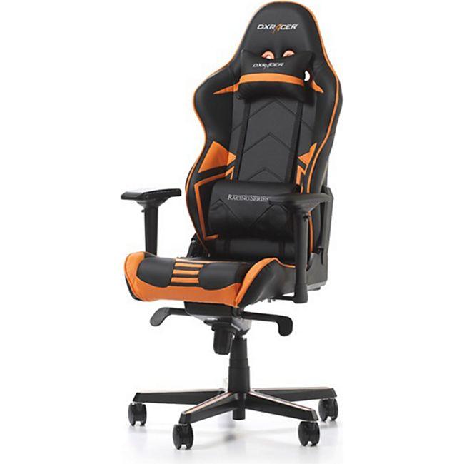 DXRacer Racing, OH/RV131/NO, R-Serie, schwarz-orange - Bild 1