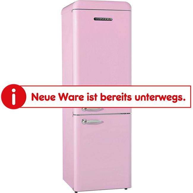 Schneider Kühl-Gefrierkombination SL 250SP Pink glänzend 181,5cm - Bild 1