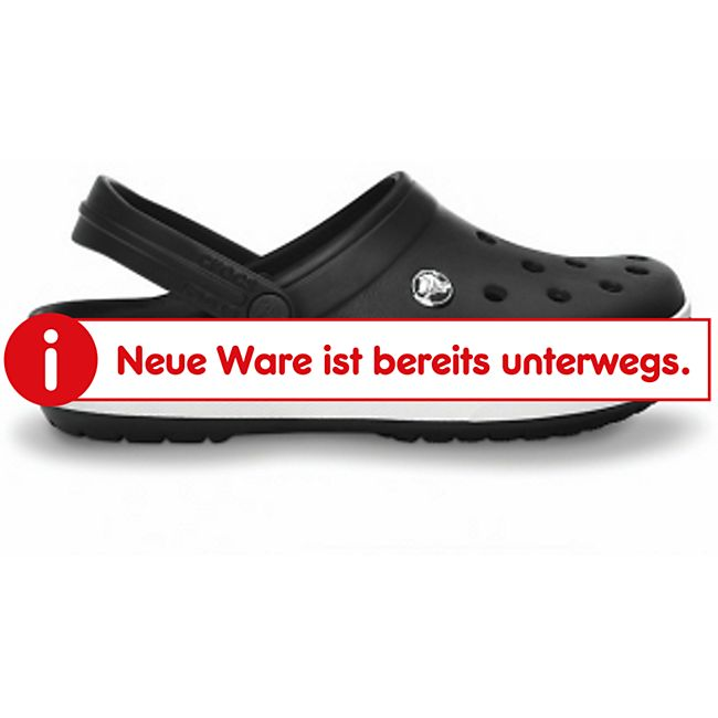 Erwachsenen Crocs (Crocband) Black US-Gr. M4/W6 EU-Gr. M/W Gr. 36-37 - Bild 1