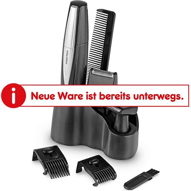 VITALmaxx Haartrimmer 3in1 8-tlg. 1,5 V, schwarz - Bild 1