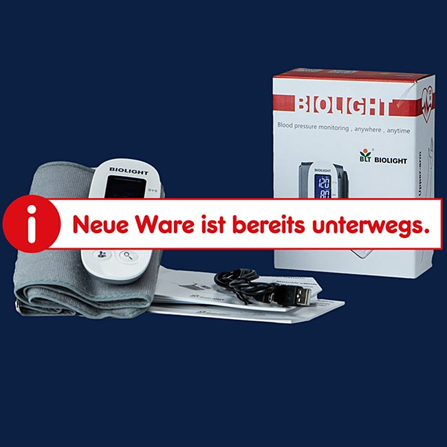 MEDX5 Kabelloses Oberarm-Blutdruckmessgerät mit Bluetooth und APP-Anbindung - Bild 1