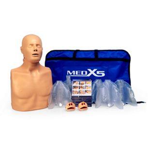 MedX5 Practi-Man Advance, HLW-Übungspuppe für Jugendliche und Erwachsene in Tragetasche - Bild 1