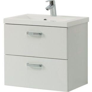 HELD Möbel Montreal Waschtisch 60 cm - Melamin Weiß - Bild 1