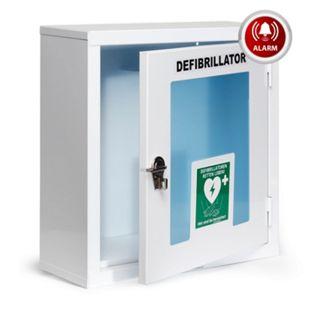 MedX5 Universal Defibrillator AED-Metall-Wandkasten mit Alarm für Innen - Bild 1