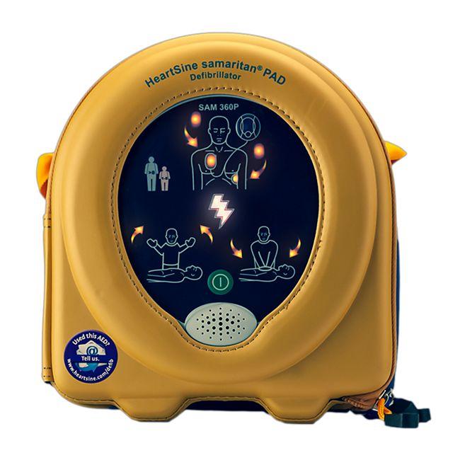 MedX5 HeartSine samaritan® PAD360P, AED-Set mit automatischer Schockabgabe - Bild 1