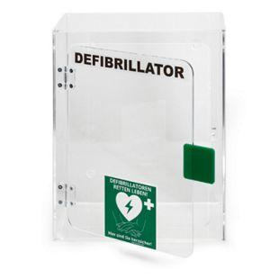 MEDX5 Defibrillator (AED) Wandkasten mit Alarm, für HeartSine Geräte, Plexiglas - Bild 1