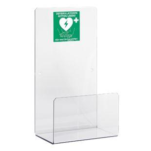 MedX5 Universal Plexiglas Defibrillator AED-Wandhalterung für Innen - Bild 1
