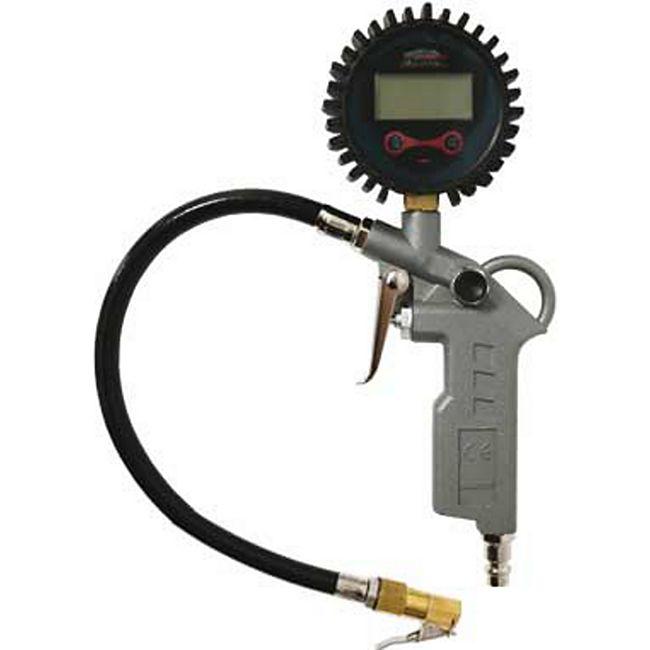 Mauk digitaler Druckluft Reifenfüller mit Messing Connector MDRL-3 - Bild 1