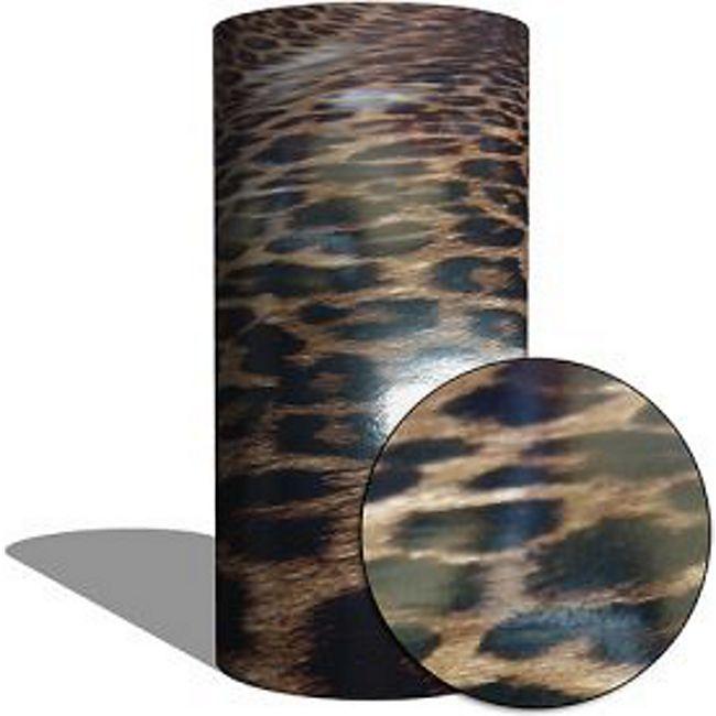 "MAUK Carbon Folie Auto- Küchen- Deko- Folie ""Leopard skin vinyl"" - Bild 1"
