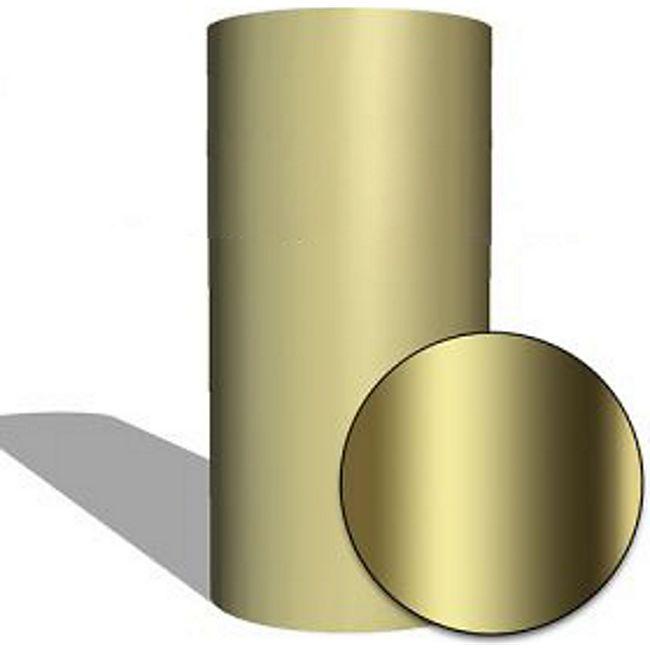 MAUK Carbon Folie Auto- Küchen- Deko- Folie GOLD Chrome vinyl (PET back) ; Hochglanz Spiegelfolie - Bild 1