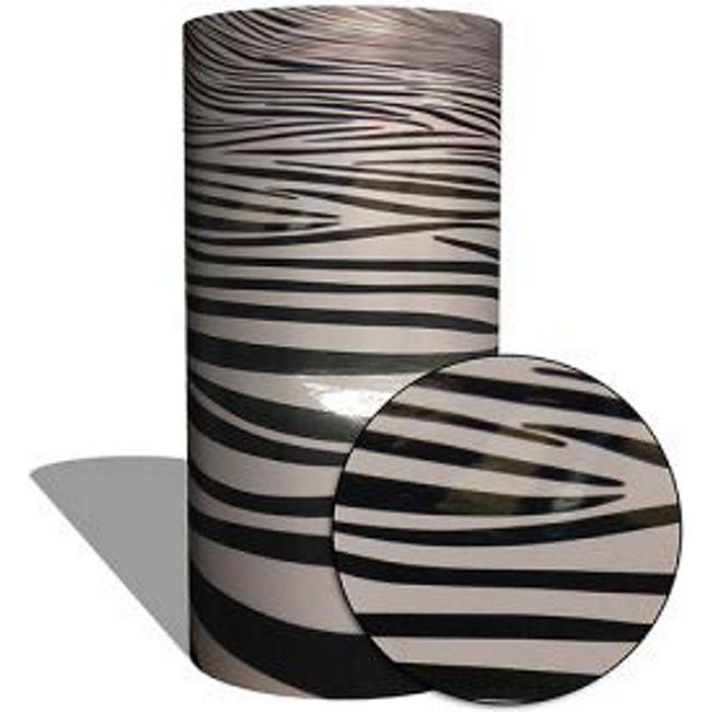 "MAUK Carbon Folie Auto- Küchen- Deko- Folie ""3D Zebra-stripe vinyl"" - Bild 1"