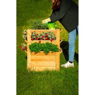 Westmann Premium Hochbeet natur, L - Bild 1